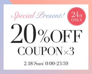 20%OFF SPECIAL COUPON