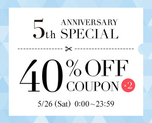 40%OFF SPECIAL COUPON