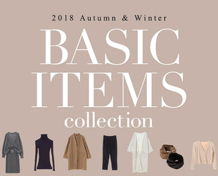AUTUMN&WINTER basic items
