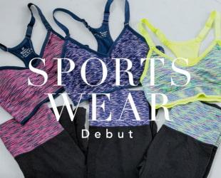 sport wear Debut