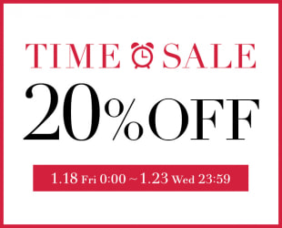 20% OFF  TIME SALE!!