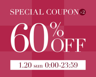 60%OFF SPECIAL COUPON