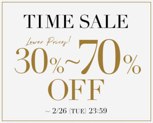 30~70%OFF TIME SALE