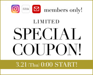 SNS only SPECIAL COUPON!
