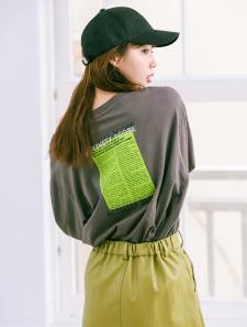 ストリートデザインロングスリーブTシャツ