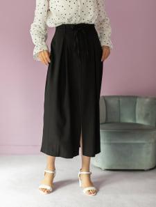ダブルストリングタイトスカート