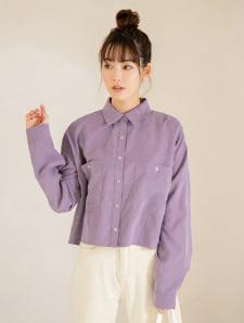 ダブルポケットショートカラーシャツ