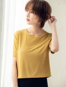 コンパクトカラーTシャツ
