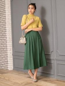 タックラインロングスカート