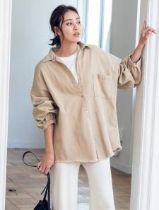カットオフミリタリーシャツジャケット