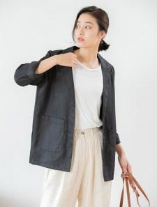 ミドル丈テーラードジャケット
