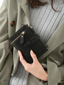 手帳型ミニ財布