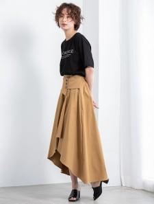イレヘムデザインロングスカート