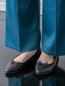 【スタイリストプロデュース】ポインテッドフラットパンプス