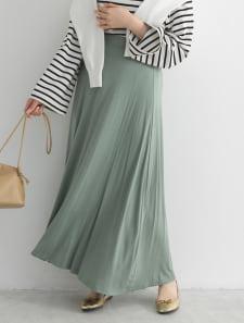 リラックスフレアスカート