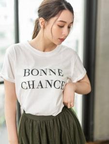 センターロゴTシャツ