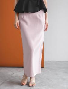 バックスリットナロースカート