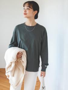 【DISCUS ATHLETIC】USAコットンロングTシャツ