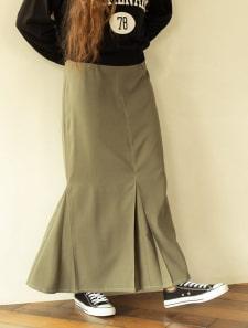 ステッチマーメイドスカート