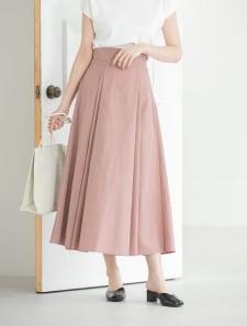 【ももちレコメンド】ハイウエストフレアタフタスカート