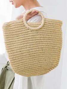 雑材ハンドバッグ