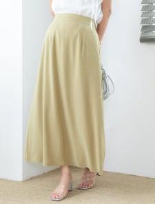スモークカラーフレアスカート