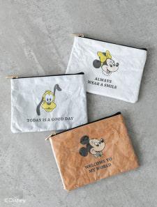 【Disney】クラフトPVCポーチ