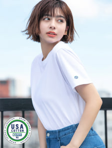 【DISCUS ATHLETIC】USAコットンレギュラーTシャツ