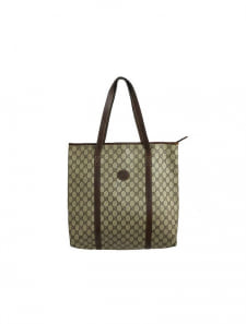 【GUCCI】GG柄PVCトートバッグ