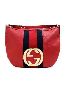 【GUCCI】GG金具シェリーラインハンドバッグ