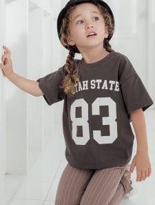 【KIDS】ナンバリングTシャツ