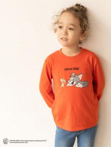 【KIDS】トムとジェリー/ロングTシャツ