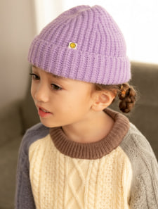 【KIDS】カラフルニット帽