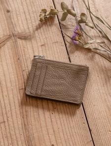 本革ミニ財布