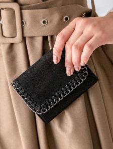 グリッターチェーンミニ財布
