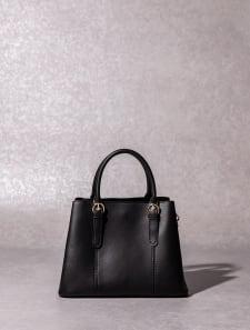 【High-Line】ハンドルミニベルトハンドバッグ