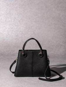 【High-Line】ポイントサークルハンドバッグ