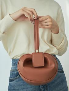 ラウンド型デザインミニバッグ