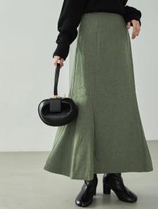 ミックスツイードマーメイドスカート