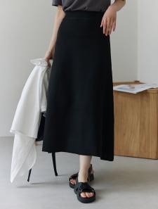 ウエストゴムAラインスカート