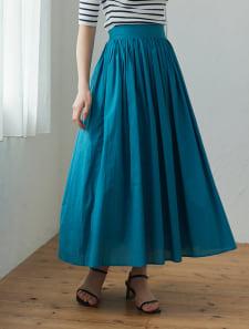 コットンフレアスカート