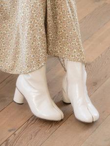足袋デザインミドルブーツ