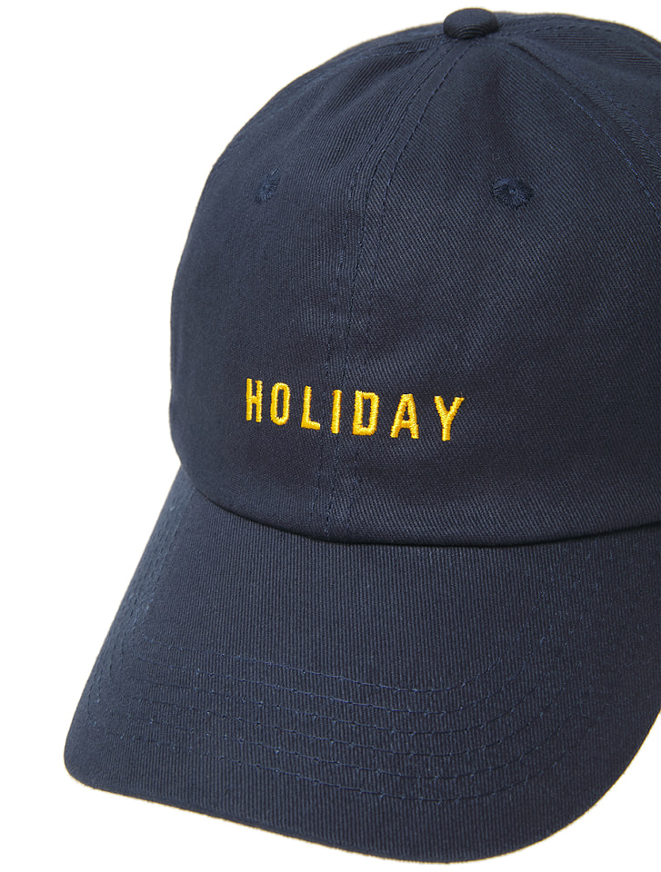 HOLIDAYキャップ