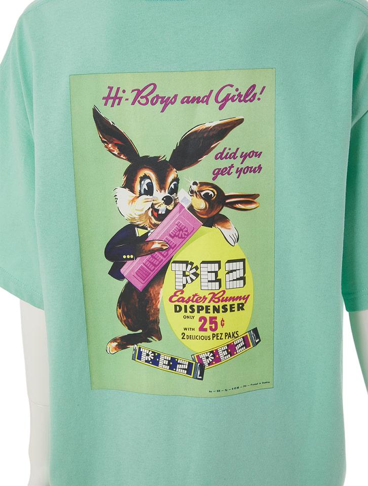 【PEZ×calin】バックプリントオーバーサイズTシャツ