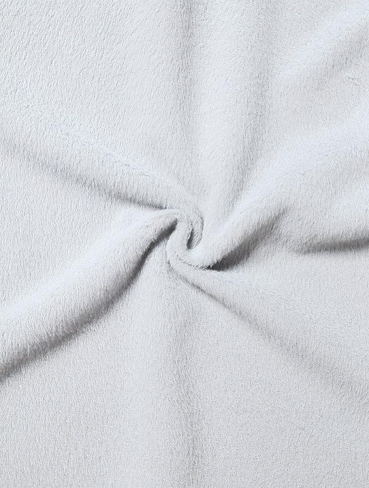 ポケットファーシャギーコート
