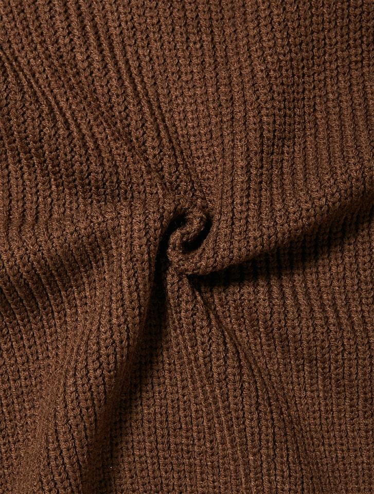 ベルト付きスカートニットセットアップ