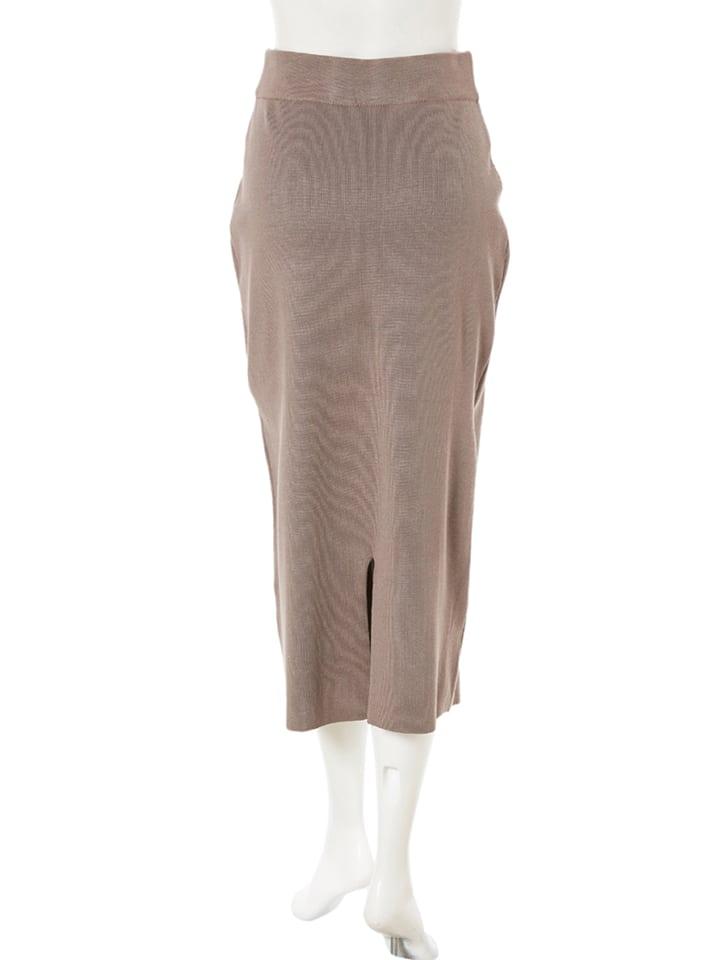 ハイゲージニットタイトスカート