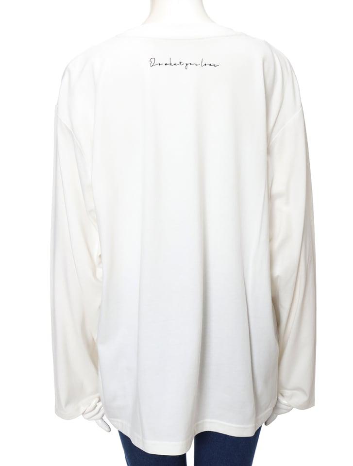 フォトプリントロングスリーブTシャツ