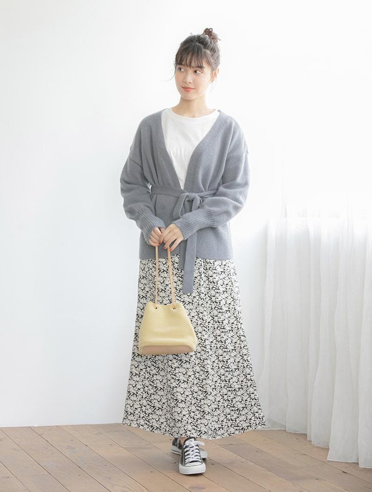【星玲奈レコメンド】ソフトタッチキャミワンピニットアップ