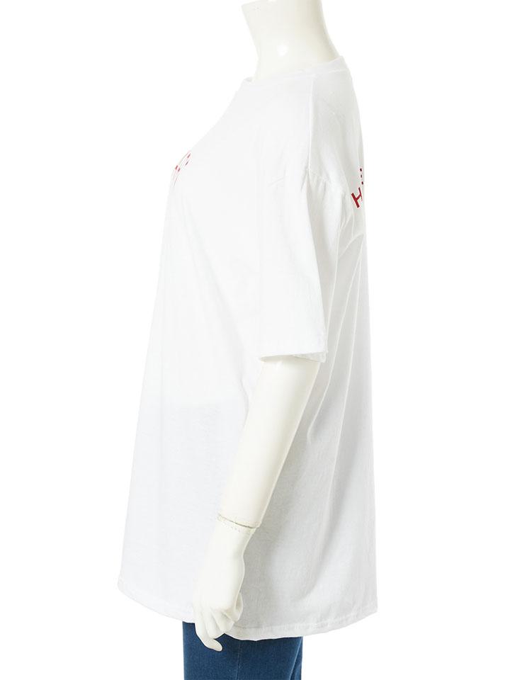 PARISロゴオーバーサイズTシャツ